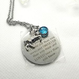 Stainless steel Inspirational necklace